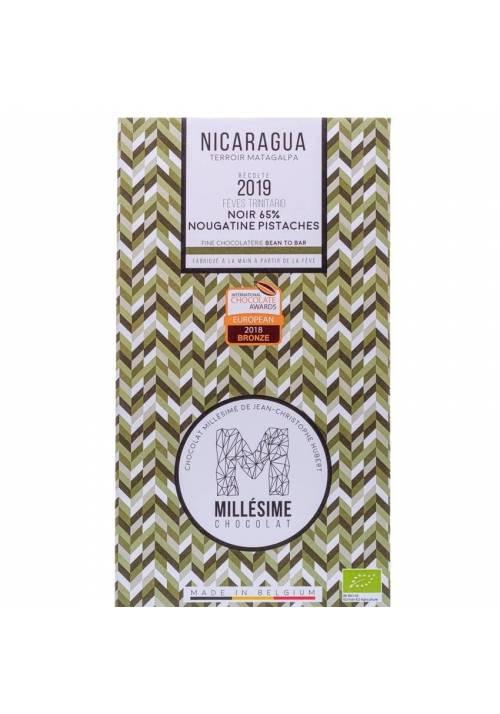 Millésime Nicaragua 65% BIO z pistacjowym nugatem