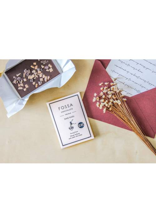 Fossa Sake Kasu Dark Chocolate 75%