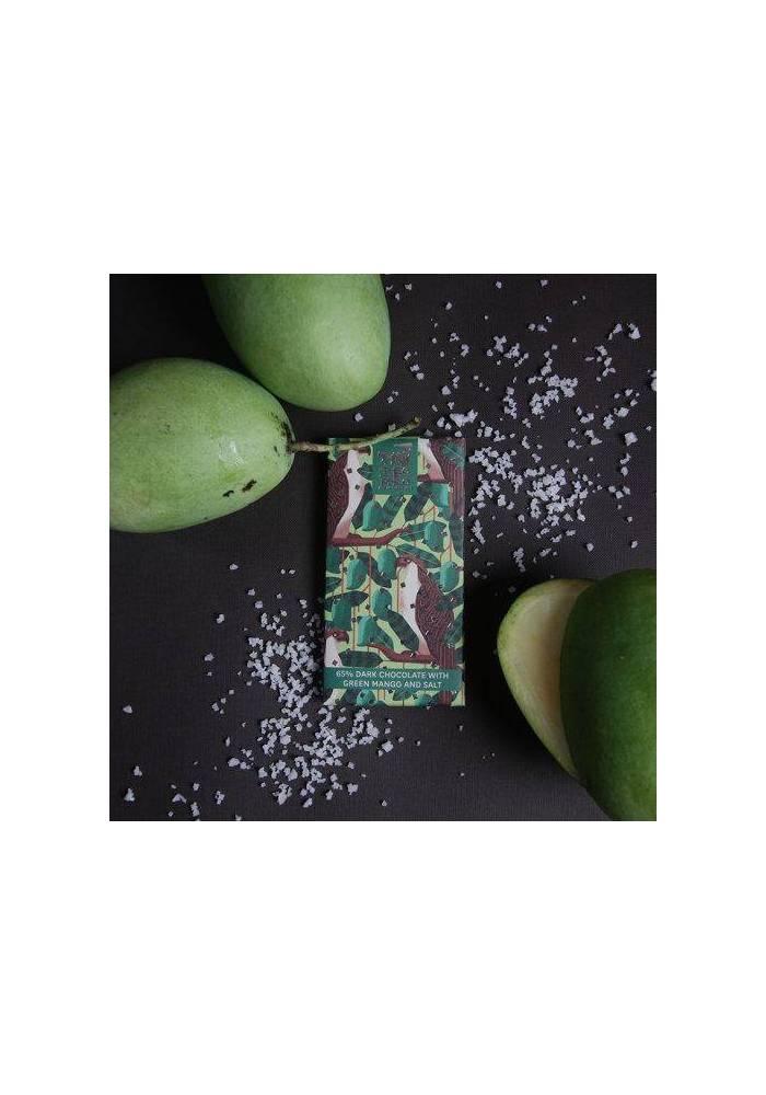 Theo & Philo 65% ciemna z zielonym mango i solą