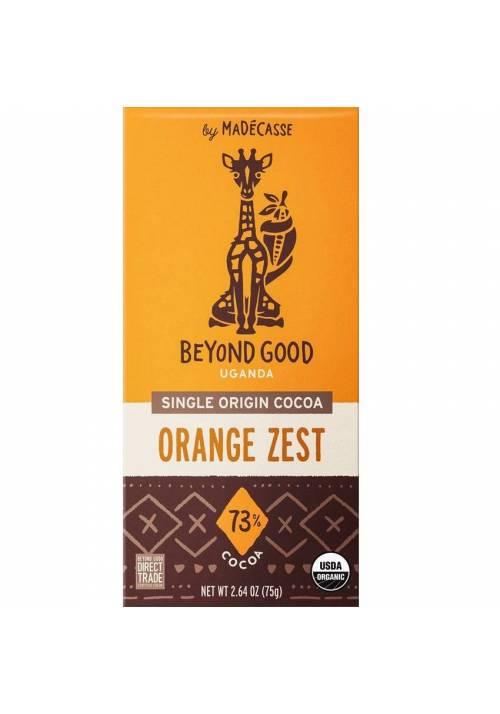 Beyond Good 73% Orange Zest (ze skórką pomarańczową)
