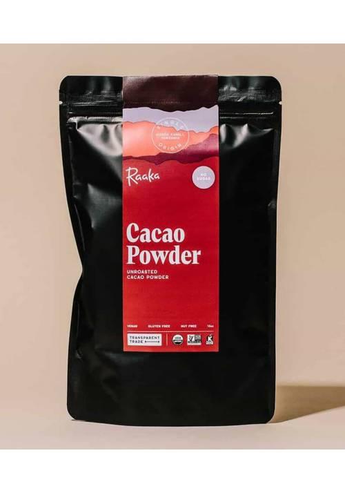 Raaka Unroasted Cacao Powder - nieprażone kakao w proszku