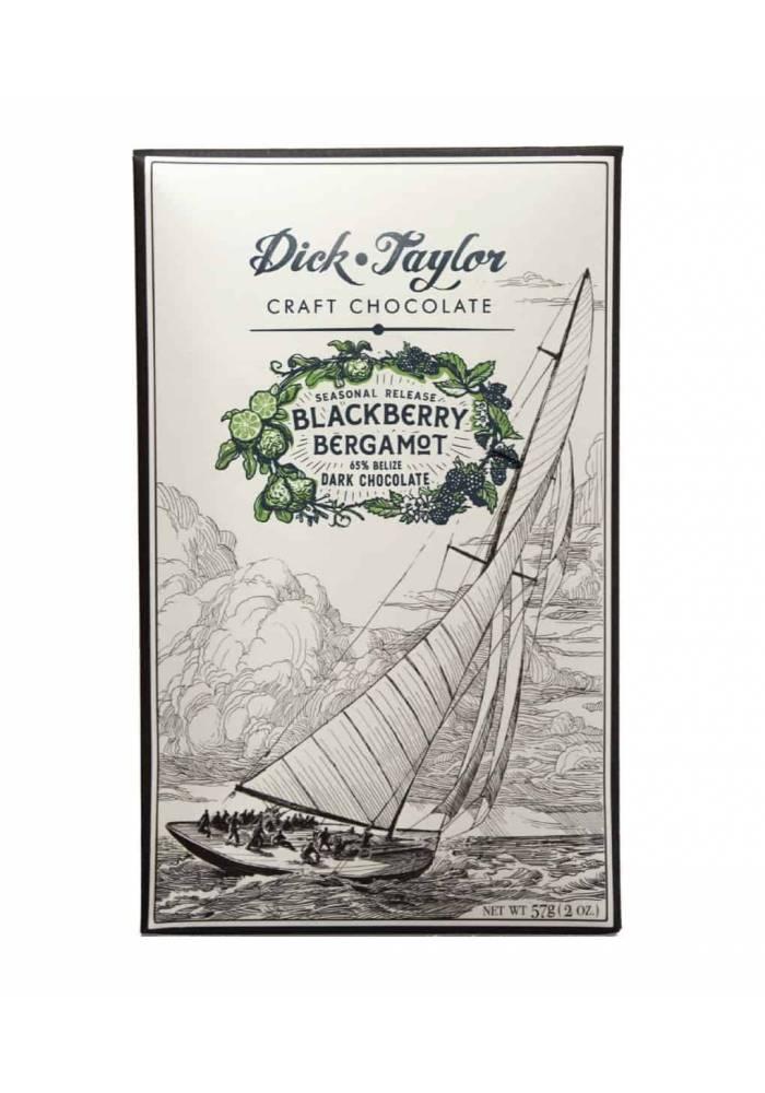 Dick Taylor Blackberry Bergamot - czekolada z jeżynami i bergamotką