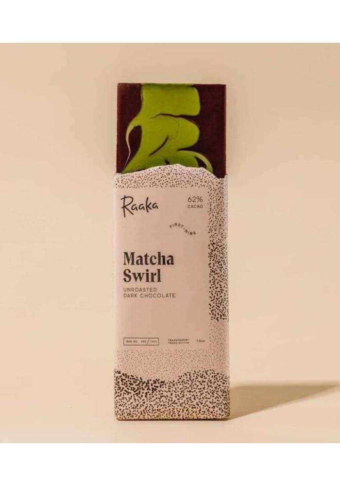Raaka Matcha Swirl - czekolada japońską z herbatą matcha