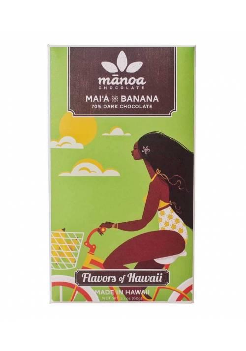 Manoa Mai'a Banana & Nibs 70%