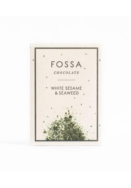 Fossa White Sesame & Seaweed Blond Chocolate