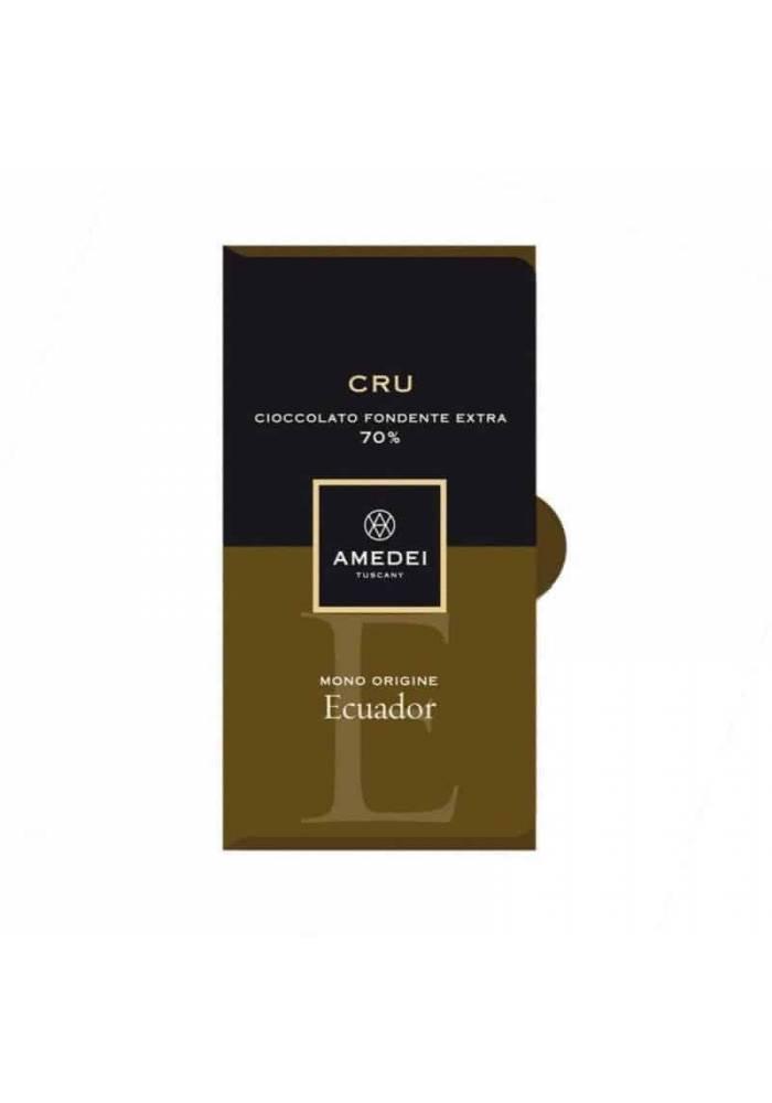 Amedei CRU Ecuador 70% ciemna czekolada z ziaren kakao z Ekwadoru