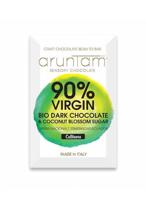 Aruntam Virgin 90% Ecuador Arriba Nacional BIO z cukrem kokosowym