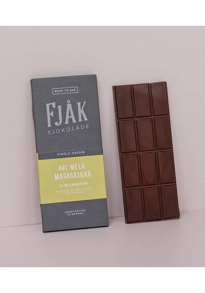 Fjåk Sjokolade Ciemnomleczna 60% Madagaskar