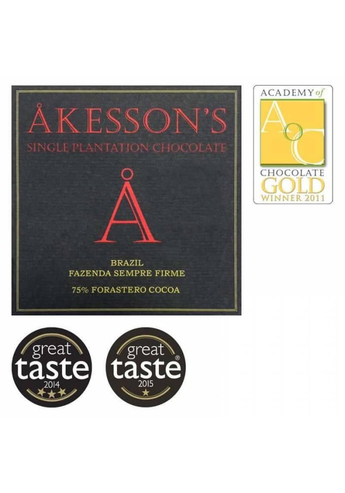 Akesson's Brazil Forastero 75% ciemna czekolada