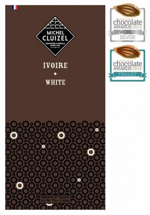 Michel Cluizel Ivoire 33% biała czekolada