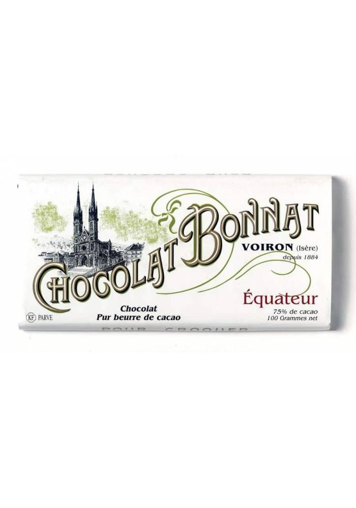 Bonnat Equateur 75% - ciemna tabliczka z ziaren kakao z Ekwadoru