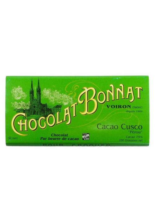 Bonnat Cacao Cusco Peru 75%