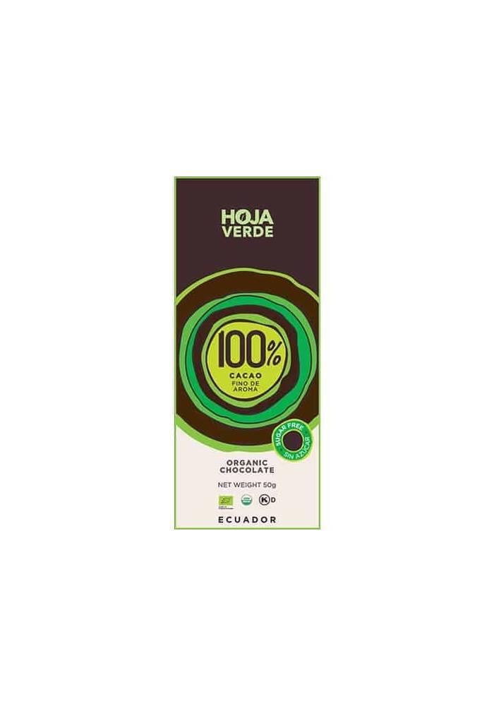 Hoja Verde czekolada 100%