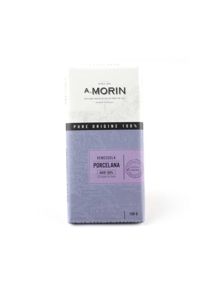 Morin Venezuela Porcelana 100% - jednoskładnikowa czekolada z niezwykle rzadkich ziaren kakao odmiany Porcelana