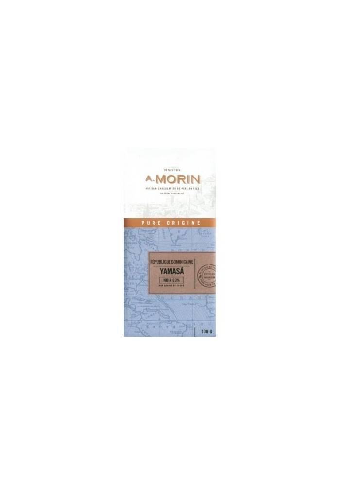 Gorzka czekolada Morin Yamasa Dominikana 63%