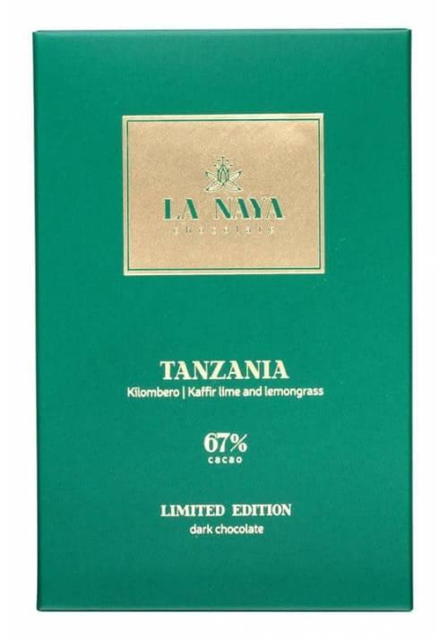 La Naya Tanzania 67% z limonką kaffir i trawą cytrynową