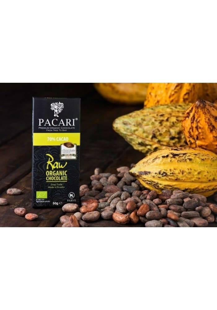 Pacari RAW 70% - surowa czekolada z Ekwadoru