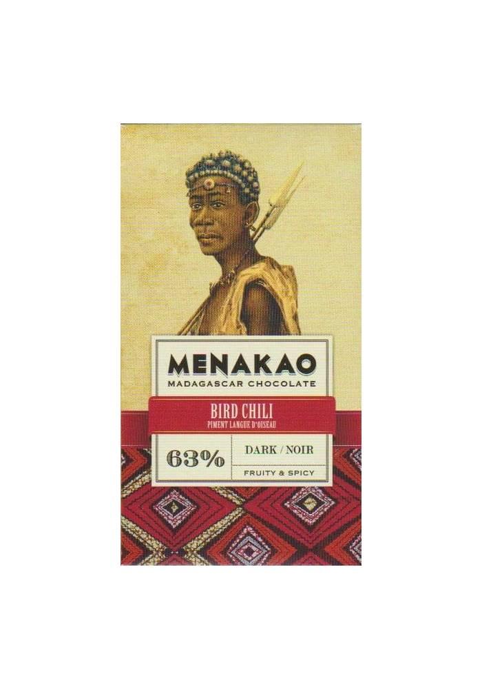 Menakao 63% z chili peri peri - wersja mini 25g
