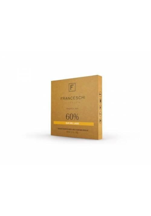 Franceschi Chocolate Sur del Lago 60% - kuwertura 226g