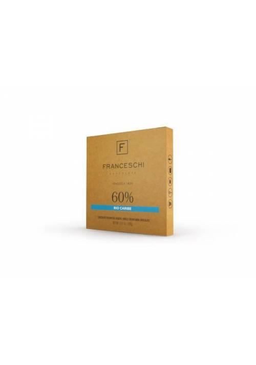 Franceschi Chocolate Rio Caribe 60% - kuwertura 226g