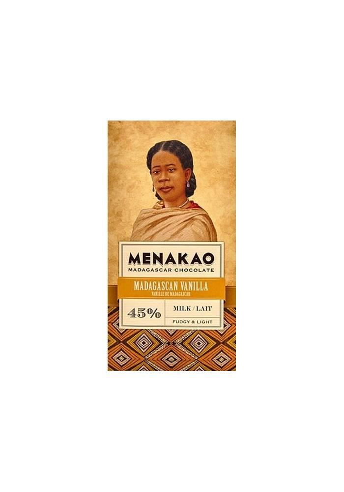 Menakao 45% mleczna z wanilią z Madagaskaru