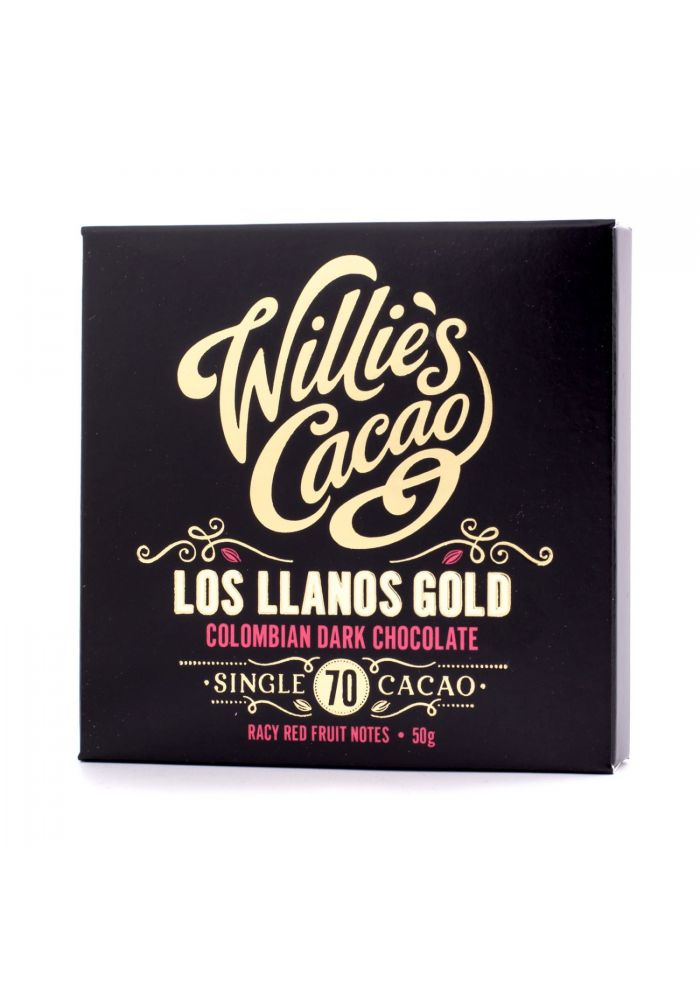 Willie's Cacao Colombian Los Llanos Gold 70% Kolumbia