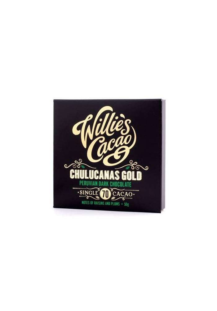 Willie's Cacao Peru Chulucanas Gold 72% Criollo