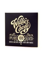 Willie's Cacao Pure Gold 100% Sur Del Lago Venezuela 65g