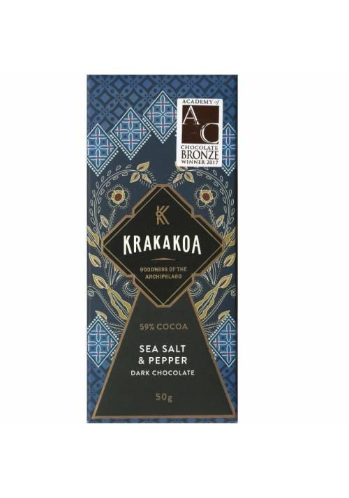 Krakakoa Sea Salt & Pepper 59% (sól i pieprz)