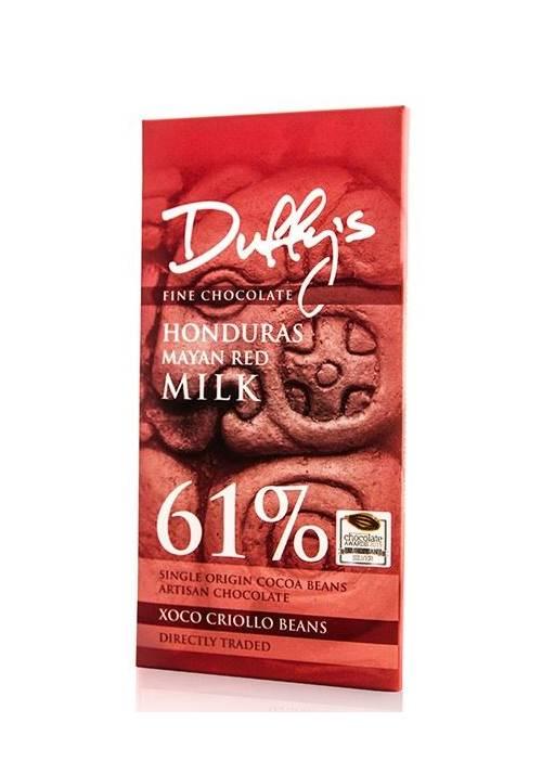 Duffy's Honduras Mayan Red 61% Milk