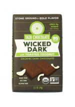 TAZA Chocolate 95% Wicked Dark with Toasted Coconut