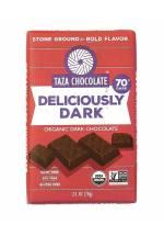 TAZA Chocolate 70% Deliciously Dark
