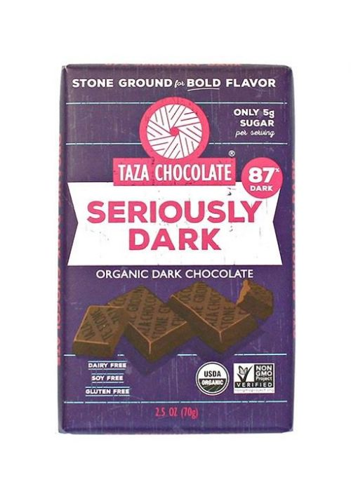 TAZA Chocolate 87% Seriously Dark