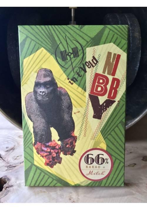 Intveld Nibby 66% mleczna z nibsami