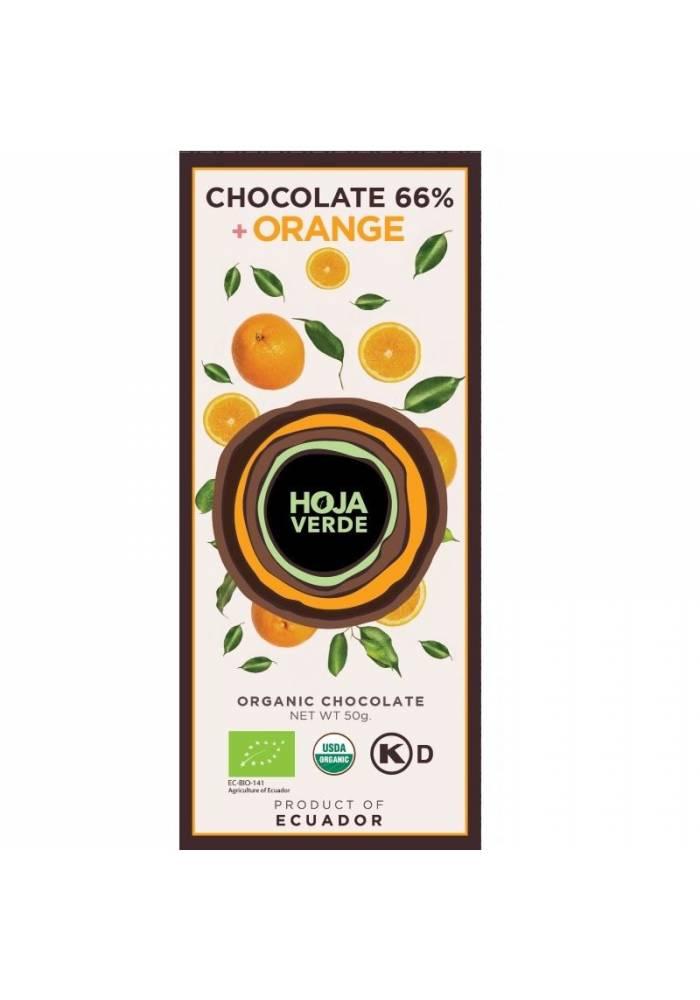 Hoja Verde 66% + pomarańcza