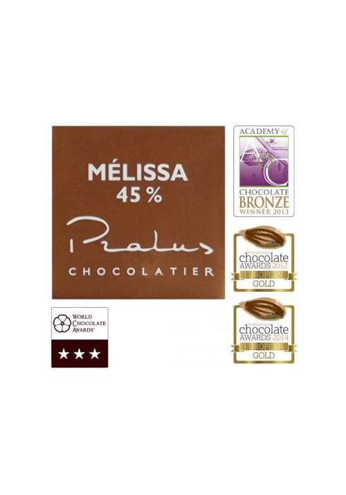 Pralus Melissa 45% Criollo (neapolitanka 5g)
