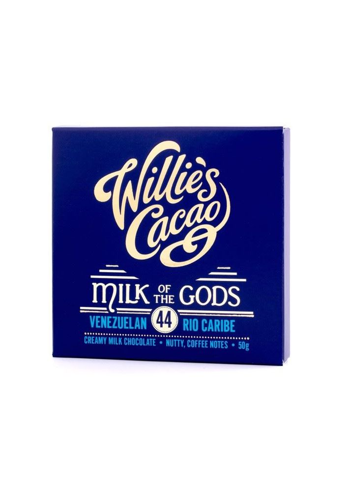 Willie's Cacao Milk of the Gods 44%