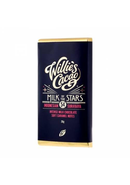 Willie's Cacao Milk of the Stars 54% minitabliczka