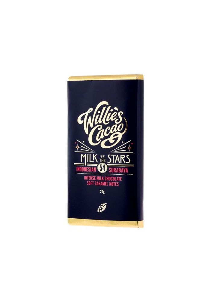 Willie's Cacao Milk of the Stars 54% minitabliczka