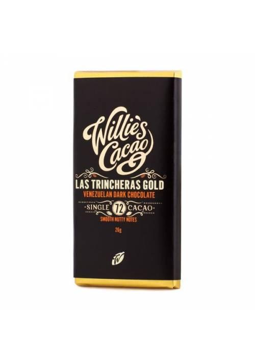 Willie's Cacao Venezuelan Las Trincheras 72% (wersja mini 26g)