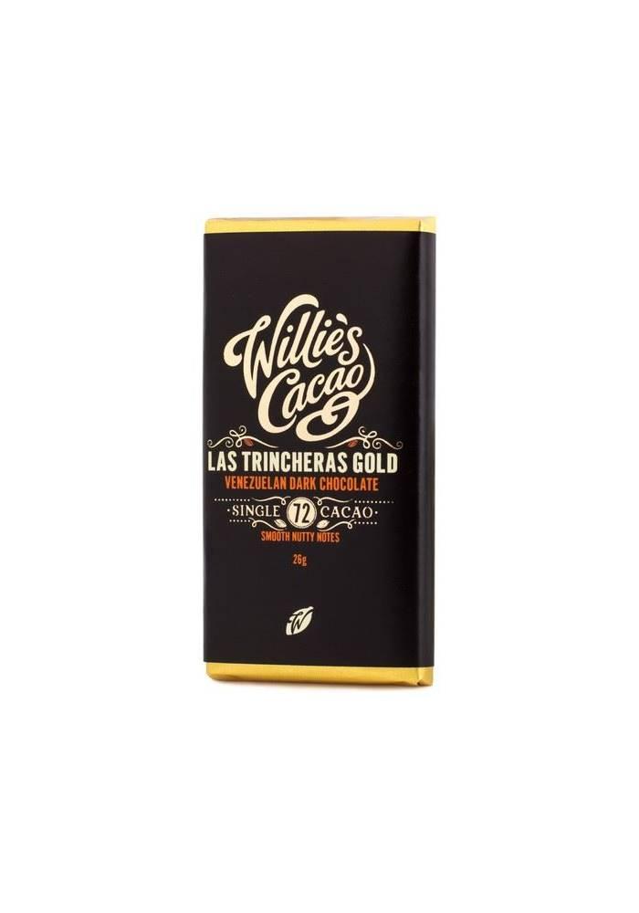 Willie's Cacao Venezuelan Las Trincheras 72% mini