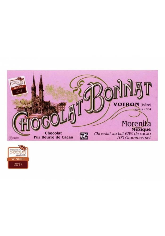 Bonnat Morenita 65% ciemnomleczna z meksykańskich ziaren