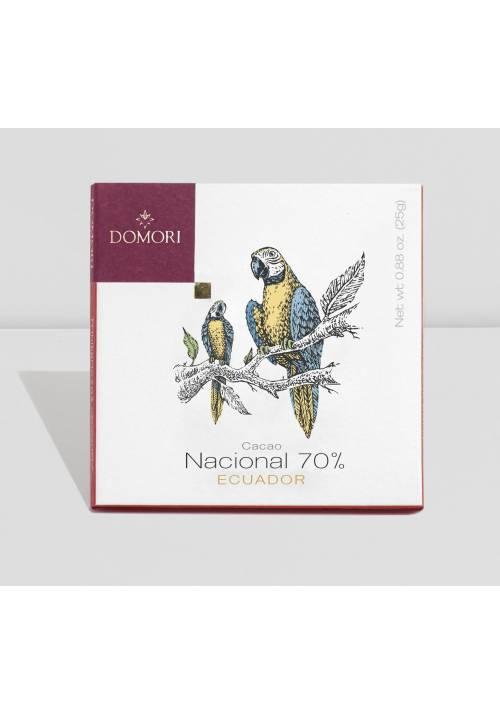 Domori Trinitario Nacional 70% Ecuador (data do 30.11.2019)