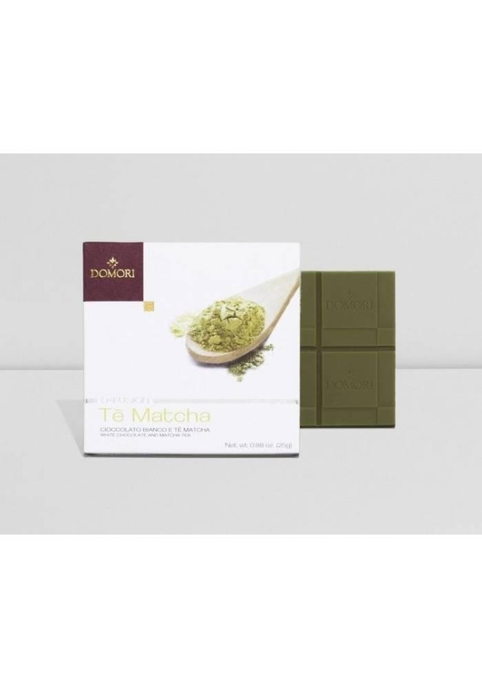Domori Te Matcha (biała z herbatą matcha)