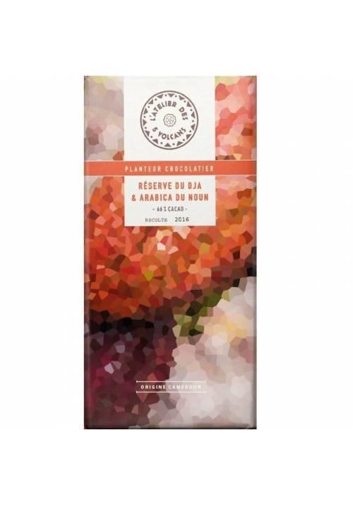 L'Atelier des 5 Volcans Reserve Du Dja 66% z kawą arabica