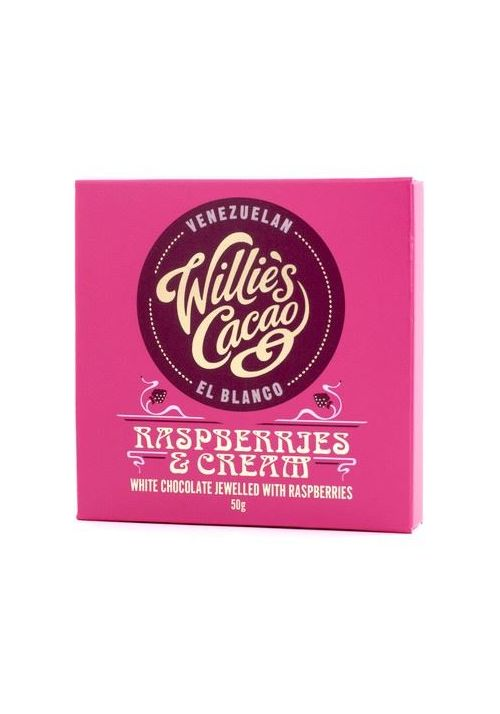 Willie's Cacao Raspberries & Cream 36%