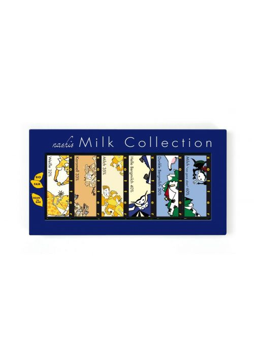 Zestaw Zotter Nashis - mleczne mini-tabliczki