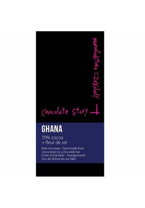 Manufaktura Czekolady Ghana 70% fleur de sel
