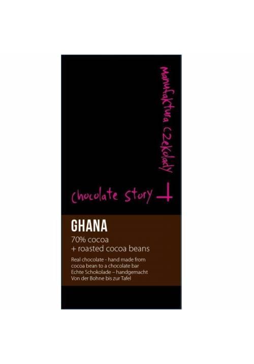 Manufaktura Czekolady Ghana 70% nibs