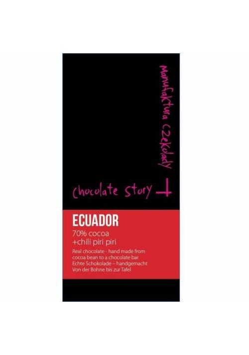 Manufaktura Czekolady Ekwador 70% piri-piri